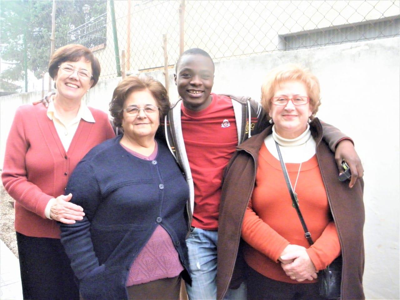 foto integración migrantes en Cartagena