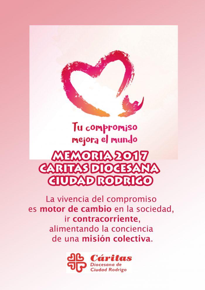 Memoria 2017 Caritas Diocesana Ciudad Rodrigo