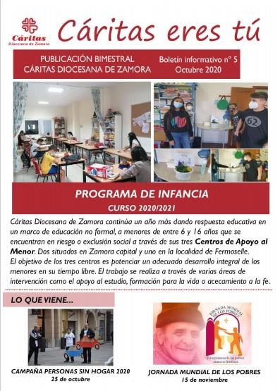 Boletín Cáritas Diocesana de Zamora nº 5