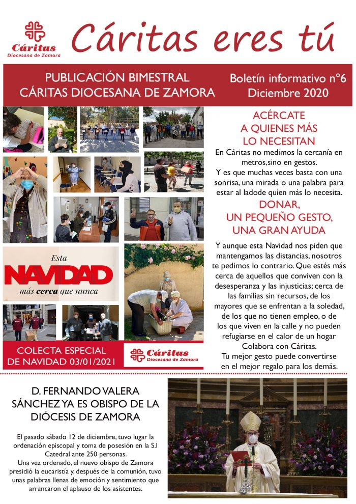 Boletín Cáritas Diocesana de Zamora nº6