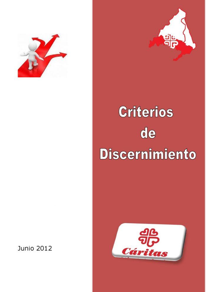 Criterios de Discernimiento