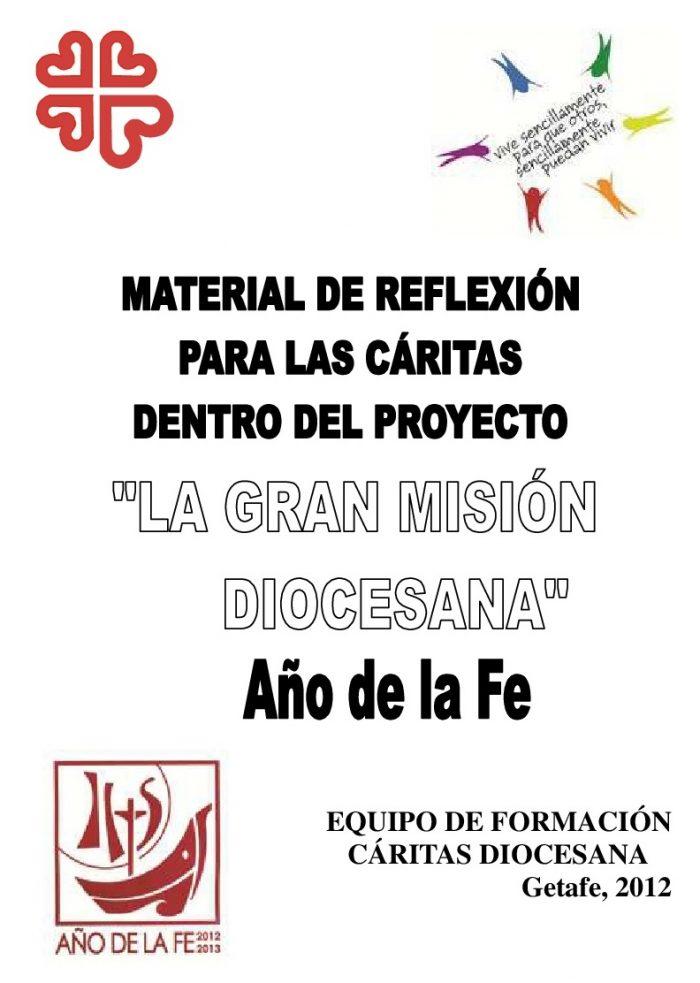 Cáritas en la Gran Misión Diocesana